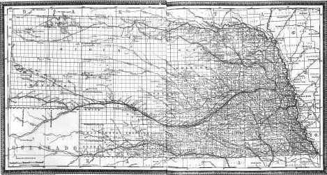 Nebraska Map - Andreas \