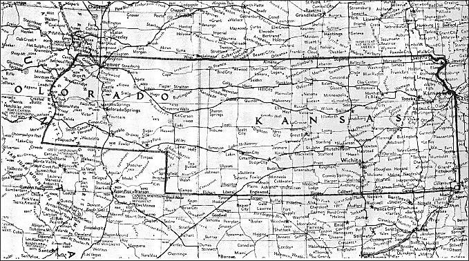Kansas Territory Map From Kansas Territory And Its Boundary - Ks map